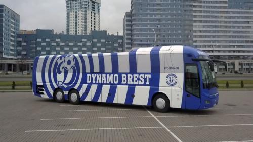 автобус динамо брест оклейка